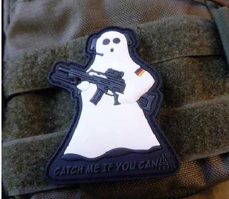 GHOST RECON RUBBER PATCH SWAT