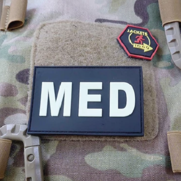 MED RUBBER PATCH SWAT
