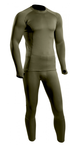 Maillot Thermo Performer niveau 3 vert od
