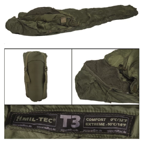 SAC DE COUCHAGE TACTICAL T3