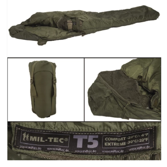 SAC DE COUCHAGE TACTICAL T5