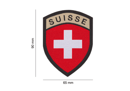 Patch Suisse couleur