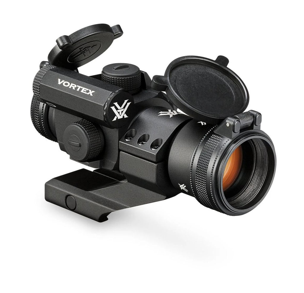 VORTEX StrikeFire II Red/Green Dot & Lower 1/3 Co-Witness Cantilever Mount