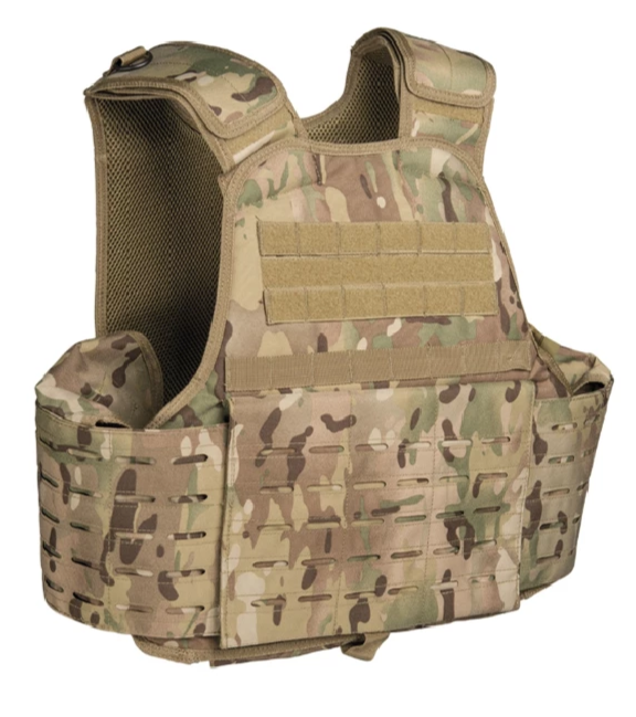 VESTE CARRIER LASER CUT MULTICAM