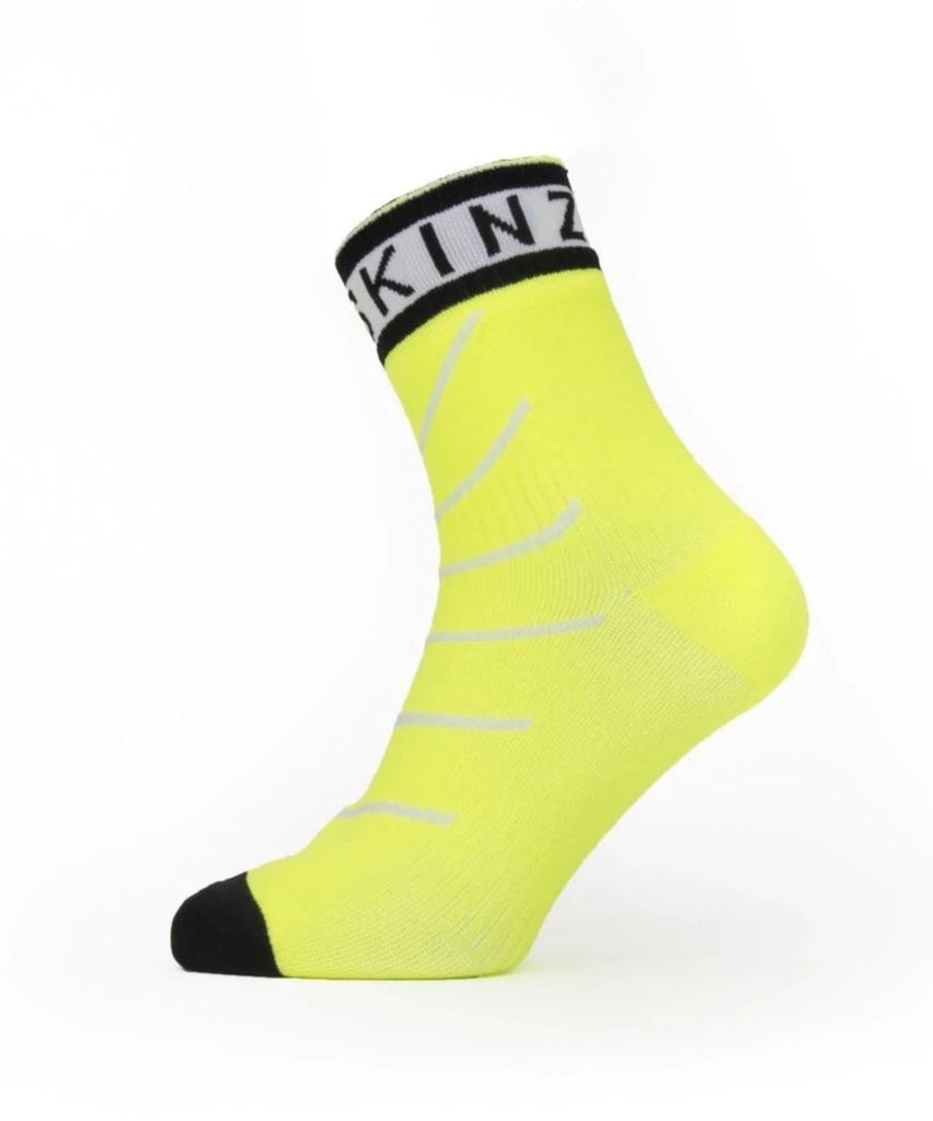 Sealskinz Super Thin Pro Ankle HS Neon Yellow
