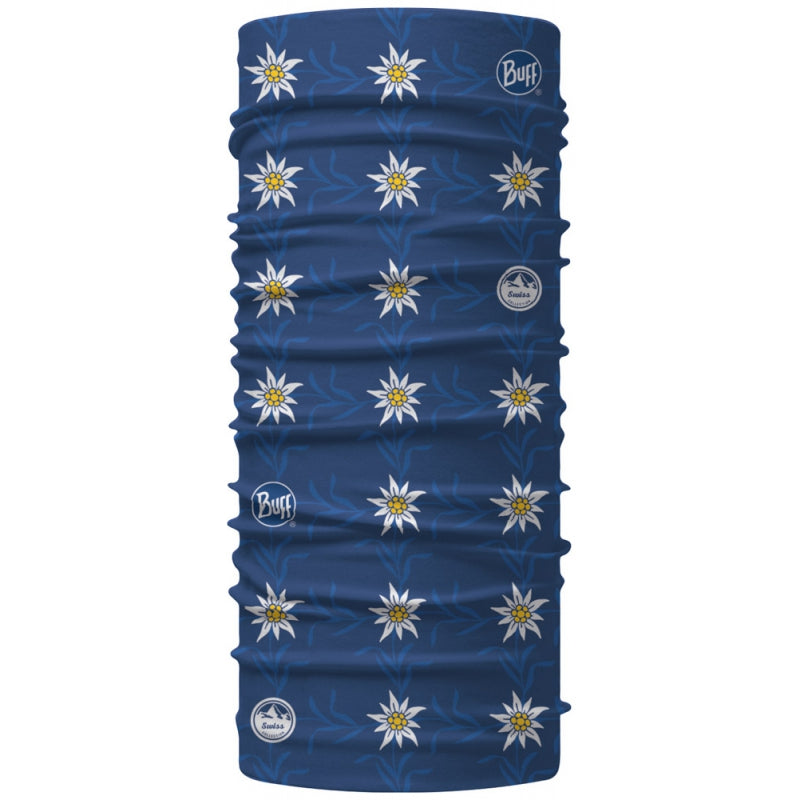 Buff Suisse Collection Classic Edelweis bleu