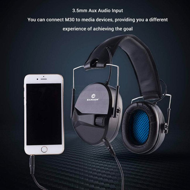 Casque anti bruit actif Earmor M30