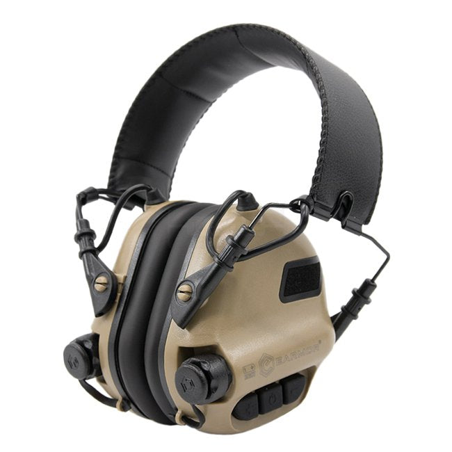 Casque anti bruit actif Earmor M31 MOD3 coyote