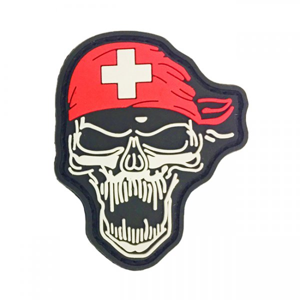 Pitchfork Bandana Skull - Color