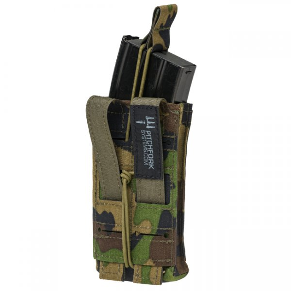 Pitchfork Single Rifle Magazine Single - SwissCamo