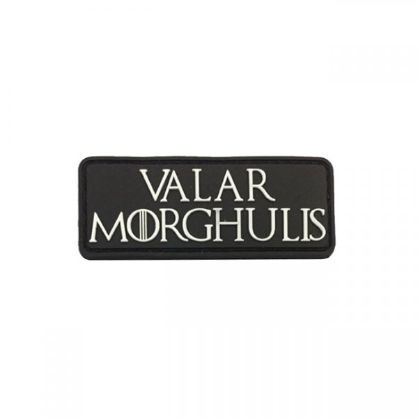 Valar Morghulis Patch - Black