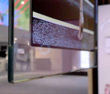 Load image into Gallery viewer, 55'' Hanging In-glass Double-sided OLED Display