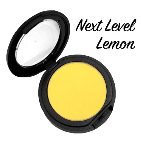 NEXT LEVEL LEMON ( Bright Yellow) Pressed Eyeshadow Single