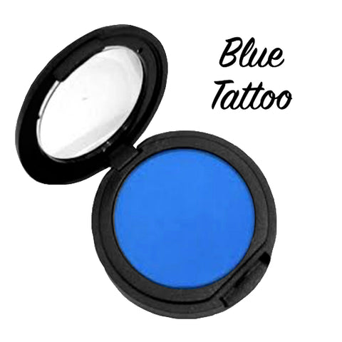 TATTOO BLUE Pressed Eyeshadow Single