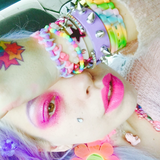HARAJUKU BARBIE PARTY DOLLust DUST *(UV/BLACKLIGHT Responsive!)* - inkeddollcosmetics