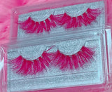 *BARBIE-LICIOUS* (Pink) DreamDoll COLOR Lashes !