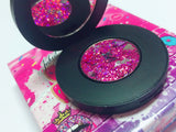 "*LMT. EDT.* ""BE MINE !"" 3DSingle Pressed Glitter Palette - inkeddollcosmetics"