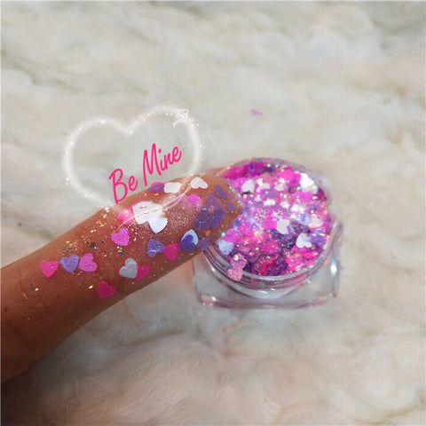 BE MINE Glitter Gel (Face/Body/Hair) - inkeddollcosmetics