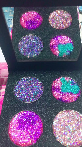 BURLESQUE CIRCUS METALLIC Pressed Glitter Quad