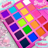 CANDY VIBEZ (20PC) *CANDY COLORED* PIGMENT PALLETE! - inkeddollcosmetics