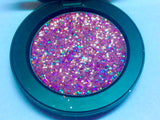 *LMT. EDT.* CINDERELLA!* Single Pressed Glitter Palette - inkeddollcosmetics
