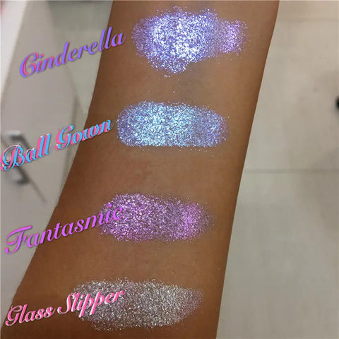 CINDERELLA SPELL (Single or 4 Pack) Icy Glitters! - inkeddollcosmetics