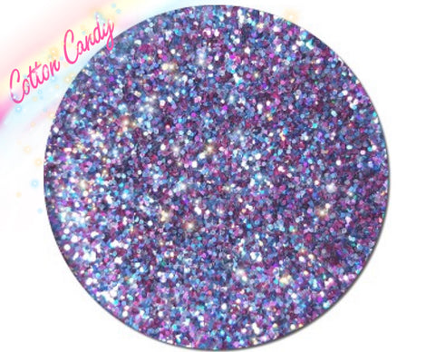COTTON CANDY Metallic Glamdoll Glitter - inkeddollcosmetics