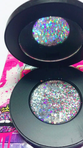 """CRYSTAL CHANDELIER"" Duo Chrome Metallic Pressed Glitter! - inkeddollcosmetics"
