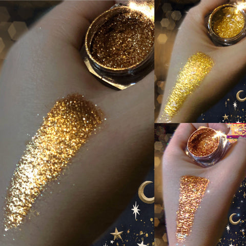 (3 PACK) GOLD DOLLust DIAMOND Collection - inkeddollcosmetics