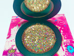 """EXPENSIVE TASTE!"" Single Pressed Glitter Palette - inkeddollcosmetics"