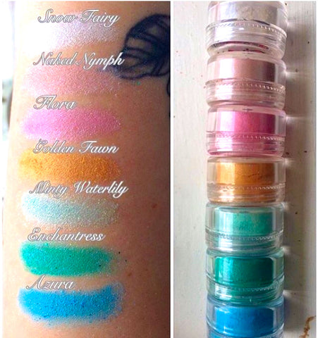 *FAIRY DUST 7 PC COLLECTION*!! DOLLust DUST - inkeddollcosmetics