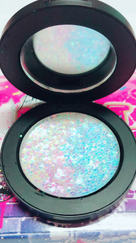 *FAIRYTALE GODDESS* Iridescent Glitter Pressed Single! - inkeddollcosmetics