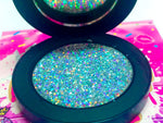 """GLASS DOLLHOUSE!"" Single Pressed Glitter Palette - inkeddollcosmetics"