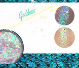 GODDESS Mermaid Jelly (Face/Body/Hair) Glitter Gel - inkeddollcosmetics