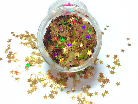 HOLLYWOOD STAR Festival Star Glitter - inkeddollcosmetics