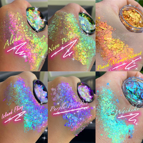 TROPICAL MERMAID IRIDESCENT DUOCHROME Flakes