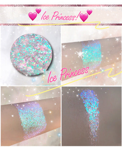 ICE PRINCESS *LMT EDT* Summer Festival Pressed Glitter - inkeddollcosmetics