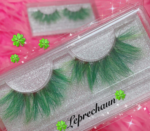 *LEPRECHAUN* (Green) DreamDoll Color Lashes !