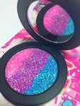 *MERMAID PARADISE !*  Iridescent Glitter Pressed Single! - inkeddollcosmetics