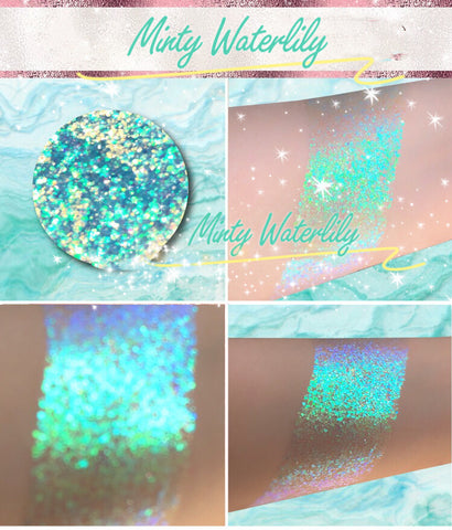 MINTY WATERLILY *LMT EDT* Summer Festival Pressed Glitter