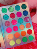 Currently:(*SOLD OUT!* NEON LIGHTS (24 PC) *BLACKLIGHT!* Pigment/Glitter Pallete! - inkeddollcosmetics