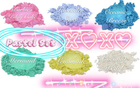 *PRETTY PASTELS* Collection - inkeddollcosmetics