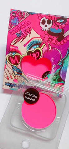 PIERCED BARBIE (Barbie Pink) Pressed Eyeshadow Single