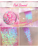 PINK DIAMOND *LMT EDT* Summer Festival Pressed Glitter