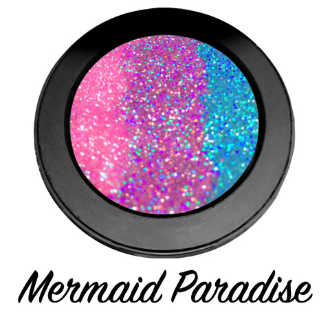 *MERMAID PARADISE !*  Iridescent Glitter Pressed Single!