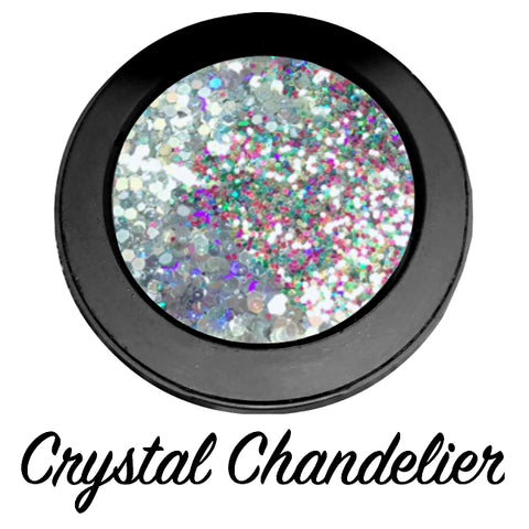 """CRYSTAL CHANDELIER !"" Duo Chrome Metallic Pressed Glitter! - inkeddollcosmetics"