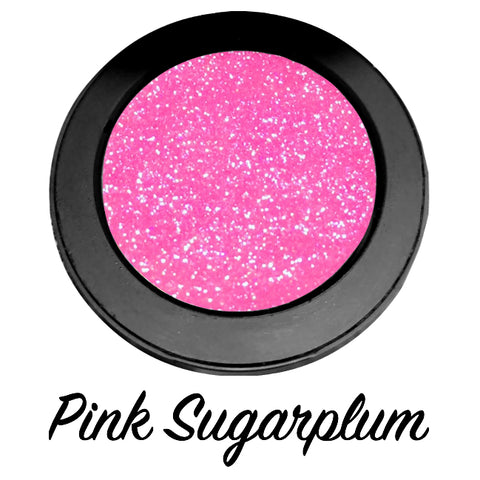 """PINK SUGAR !"" Single Pressed Glitter Palette"