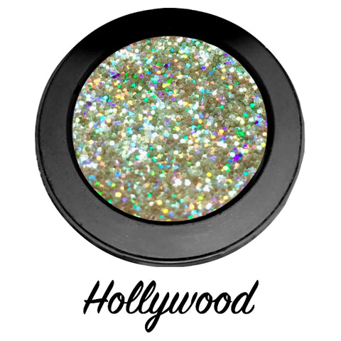 """HOLLYWOOD!"" Single Pressed Glitter Palette"