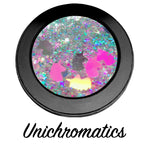 *UNICHROMATICS !* Single Pressed Glitter Palette - inkeddollcosmetics