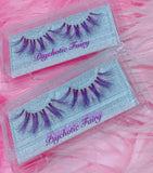 *PSYCHOTIC FAIRY* (Pastel Pink/Purple) DreamDoll COLOR Lashes !